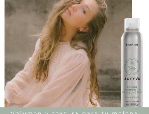 ACTYVA DRY VOLUMEN; Volumen infinito para tu cabello