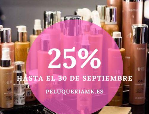 Promoción tienda online de peluquería