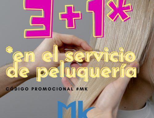 3+1 EN EL SERVICIO DE PELUQUERÍA
